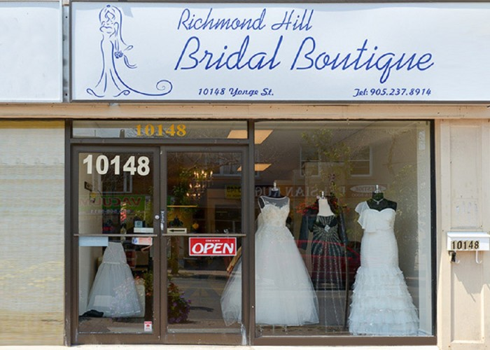 Richmond hill bridal boutique richmond hill business story for Wedding dress shops richmond va
