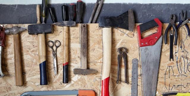 DIY organizing tricks for the garage