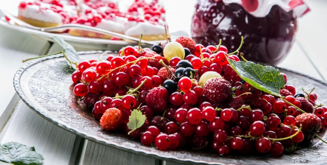 2 better for blood sugar, cherry-rich desserts