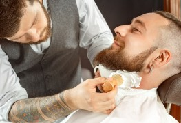 Enjoy the classic experience at a modern barbershop