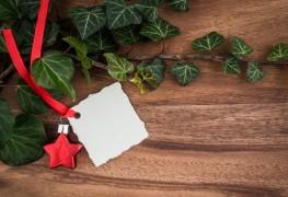4 DIY eco-friendly holiday gift tag ideas