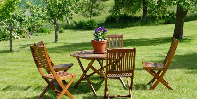 Expert tips for maintaining garden furniture