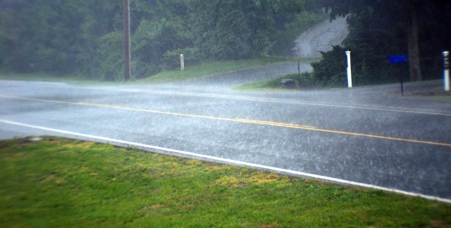 Simple steps to drive safely in wind and rain