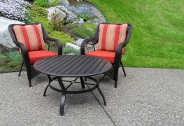 How to furnish a tiny patio