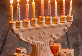 Make your own Hannukah menorah with these fun designs