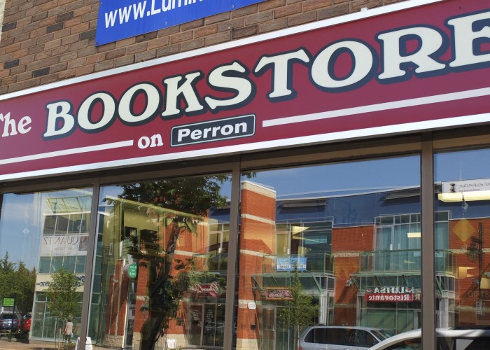The Bookstore on Perron Street is located in downtown St. Albert, and sells books, toys, decor and more