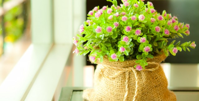 Freshen up your home's decor with artificial flowers