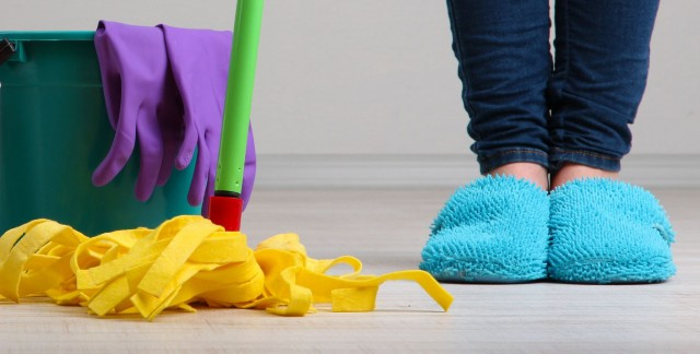 How to make natural floor cleaner at home