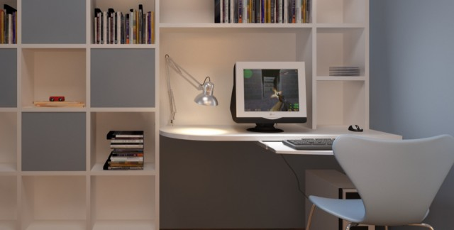 5 ways to unclutter your home office