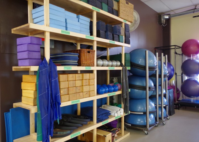 Integration Pilates Studio offers a variety of classes, including those that require equipment and those that don't