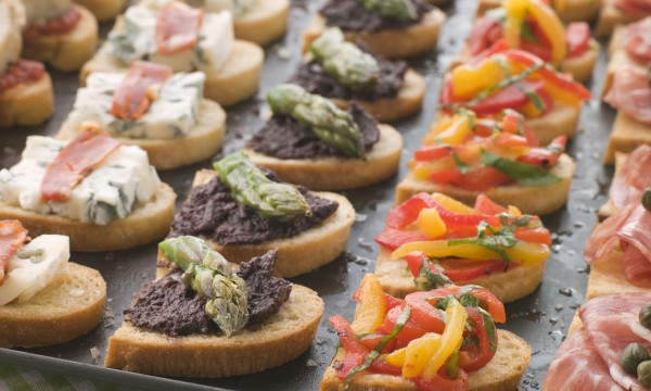 Delicious easy-to-make canapés your guests will love