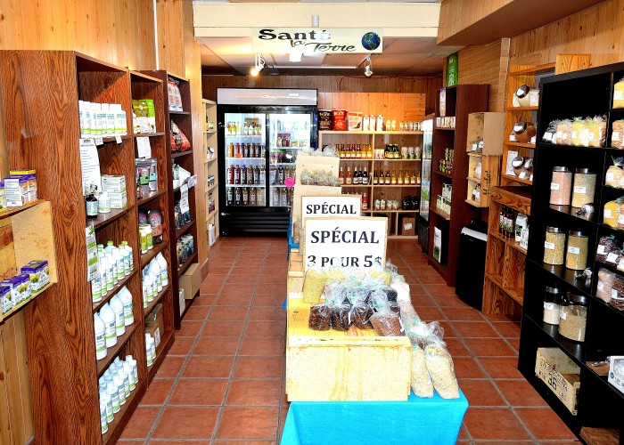 Santé la terre also offers additional vitamins and minerals in the form of fermented supplements and protein supplements.