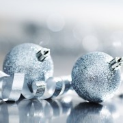 Why silver and white are the best Christmas decor colours