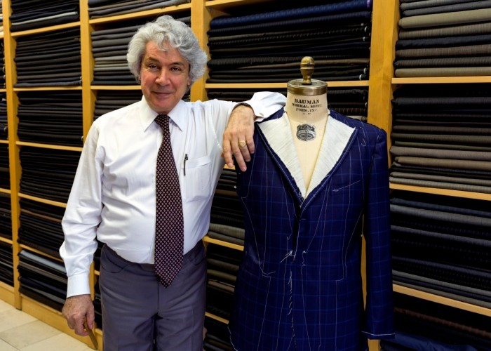 Spiros Hatzantonis is the owner of Spiros Tailors.