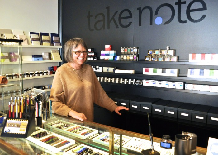 Take Note - Jolanta is the owner of this one-of-a-kind operation located in the heart of Toronto's Junction neighbourhood