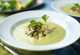 2 delicious chilled soup recipes for surviving summer