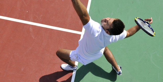 Tennis tips on using the two-handed backhand