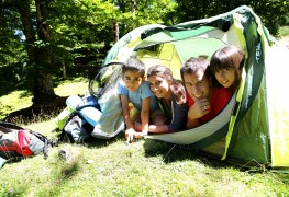 Camping activities for the whole family