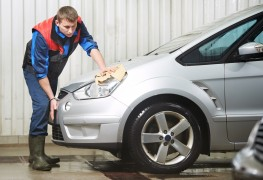 Protect your car exterior with paint, wax and film