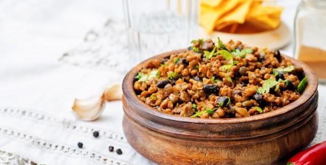 Dinner tonight: vegetarian chili