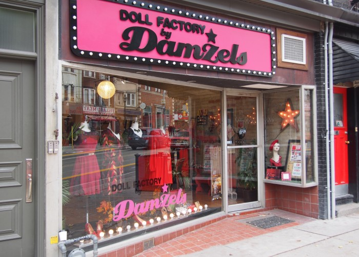 Doll factory by damzels toronto business story for Home accessory stores near me