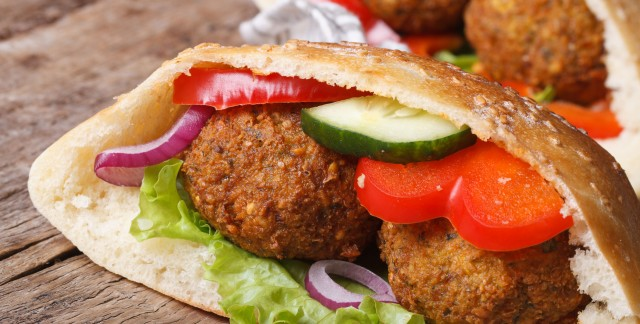 Why falafel pitas help fight high blood pressure