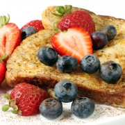 Breakfast recipes: stuffed English muffin French toast and overnight French toast