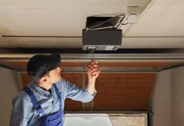 Easy fix for a jammed garage door