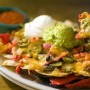 Decadent dips: homemade baba ghanoush and guacamole