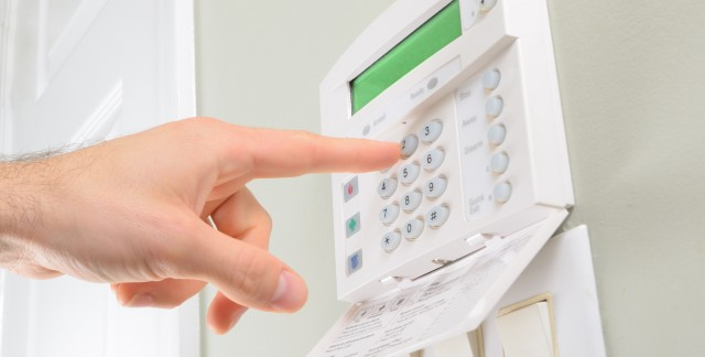 What camera options should you consider for a home security system?