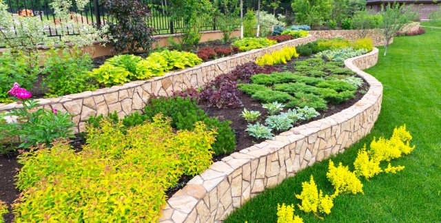 How to landscape a large lot