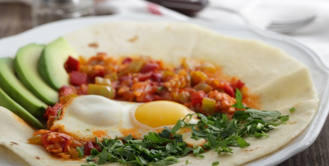 A festive breakfast recipe: huevos rancheros