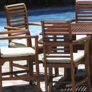 How to clean outdoor teak furniture