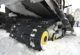 Choosing the best track size for your snowmobile