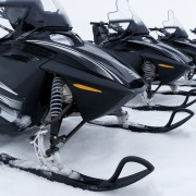 Identifying the most important parts of a snowmobile