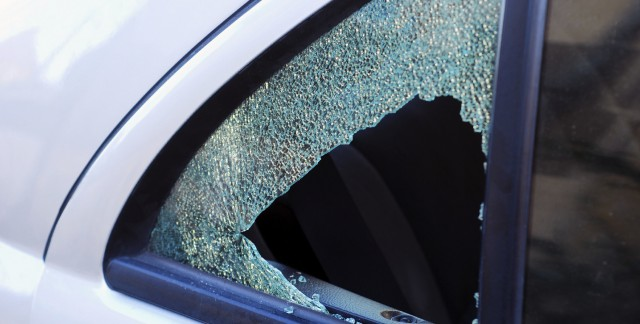 What to do when your car window is broken