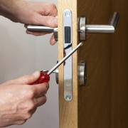 How to repair a broken door lock