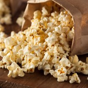 Nuts and popcorn: sweet and salty snacks