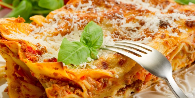 Dinner tonight: lasagna with a twist