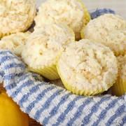 Decadent dessert: lemon pound cake muffins