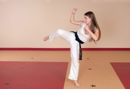 Improving self-confidence through martial arts