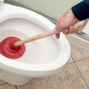 Advice for fixing an overflowing toilet