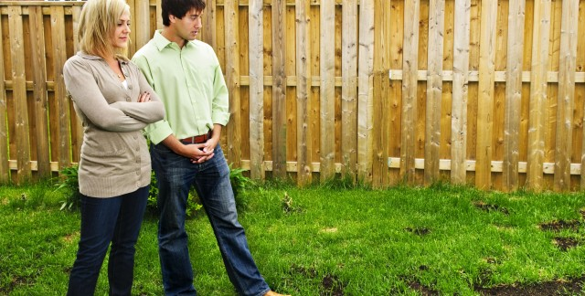 How to fix a patchy lawn