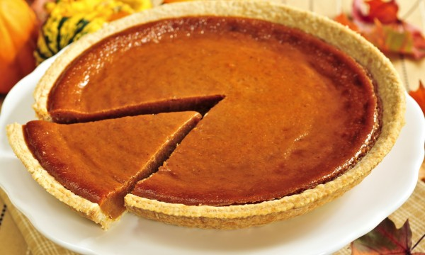 2 pie recipes: triple pumpkin and ginger-pear