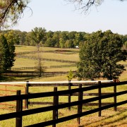 Money saving steps to build a post-and-rail fence