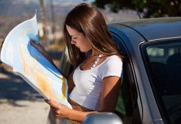 Smart travelling: how to read map contours and drive safely