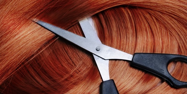 DIY hair colouring: black, brunette and red