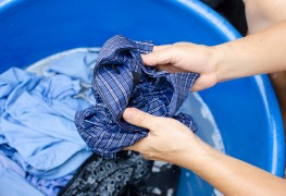 Proven methods for washing away blood spots on clothes