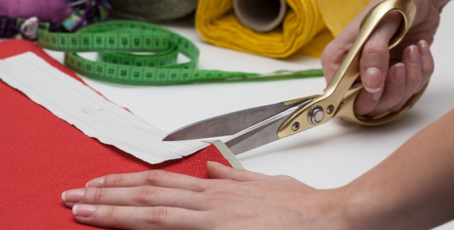 Sharp tips for cleaning and maintaining scissors
