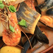 Dinner tonight: shrimp Provençal